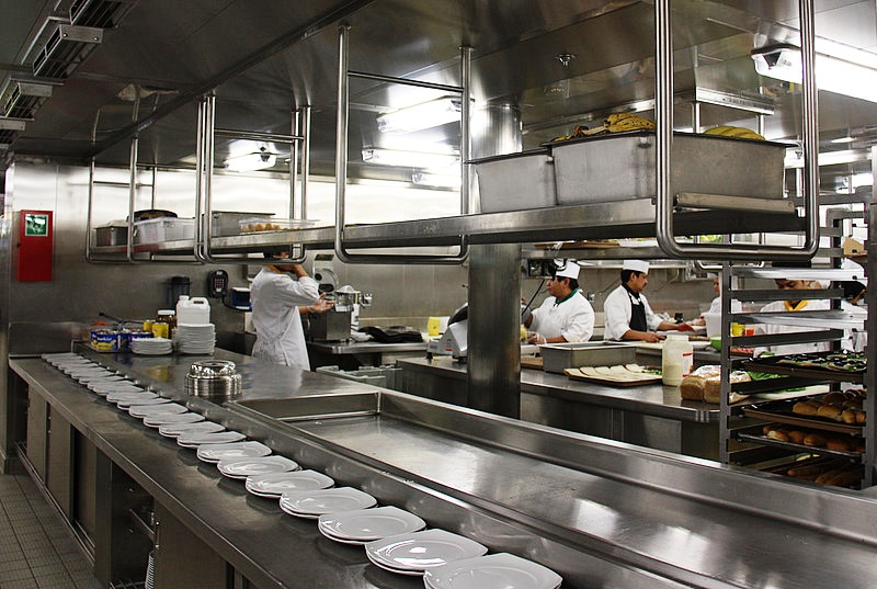 How clean is a cruise ship kitchen miami fl Ship galley kitchen design