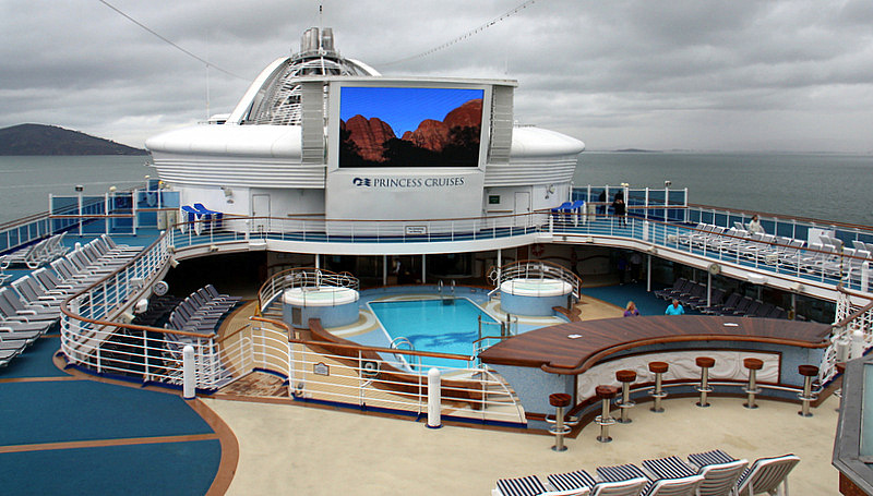 Luxury Cruising From San Francisco To Hawaii On Princess Cruise - Cruise ship terminal in san francisco