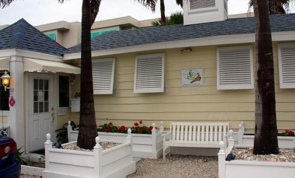 Resort's small office