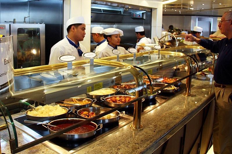 Little America Dining Room Breakfast Buffet