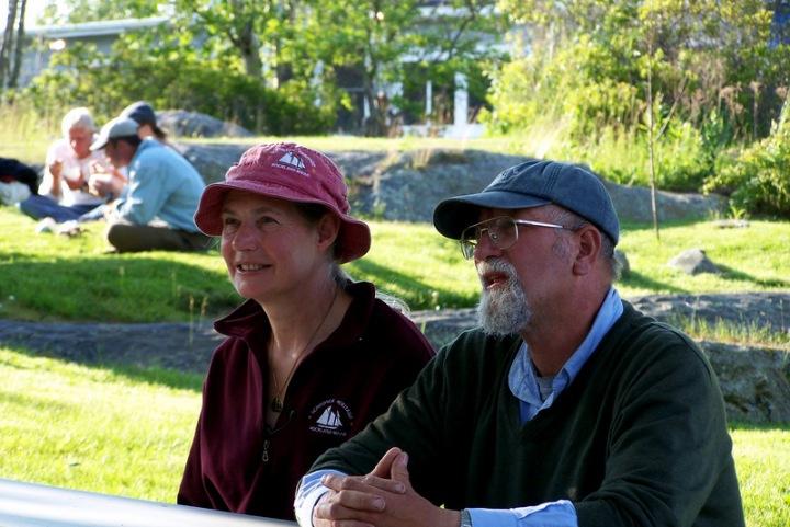 Amiable Captains Linda and Doug Lee