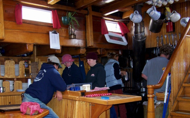 Galley helpers welcome