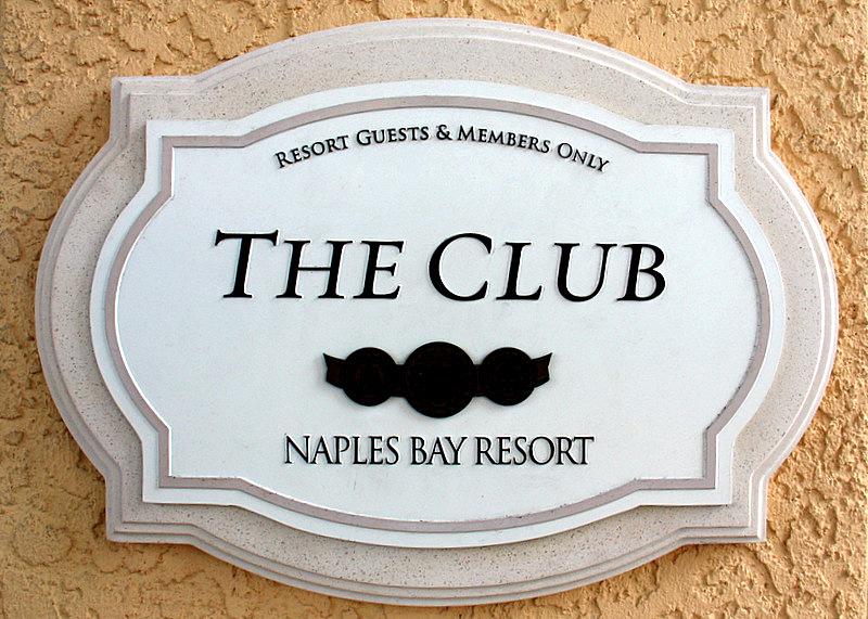 NBR Club sign