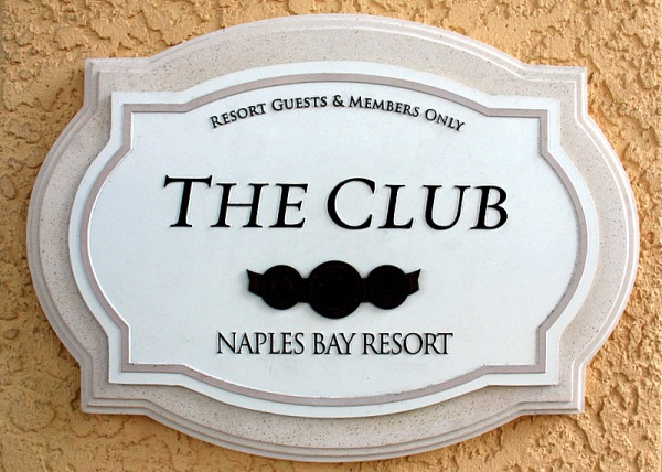 NBR Club sign