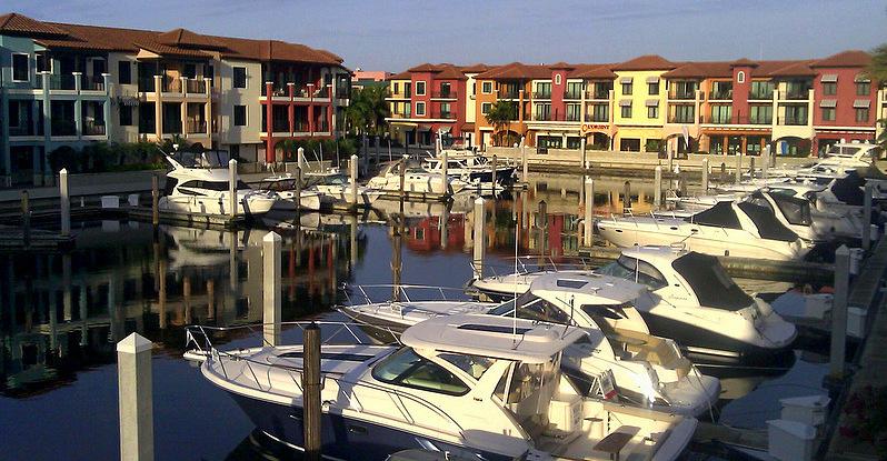 NBR Marina from patio