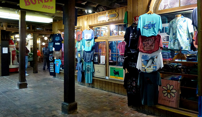 Tin City shops