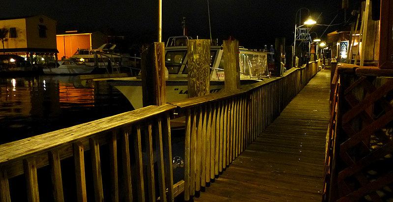 Tin City wharf