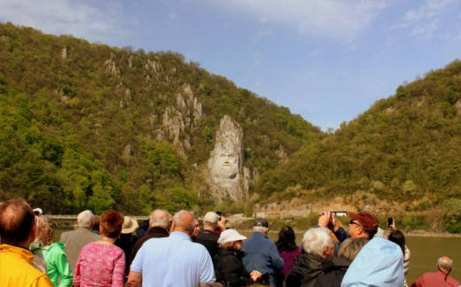 The Decebalus Rex Monument Is Tallest Rock Structure In Europe It Considerably Taller Than More Famous US Mount Rushmore At 59 Feet